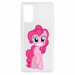 Чехол для Samsung S20 FE Pinkie Pie smile