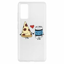 Чохол для Samsung S20 FE Pizza and beer
