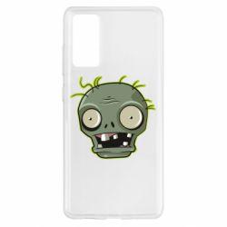 Чохол для Samsung S20 FE Plants vs zombie head