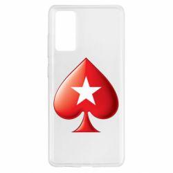 Чохол для Samsung S20 FE Poker Stars 3D Logo