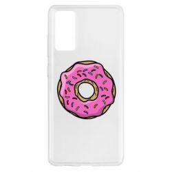 Чехол для Samsung S20 FE Пончик Гомера