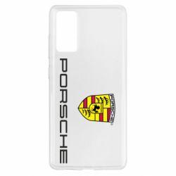 Чехол для Samsung S20 FE Porsche