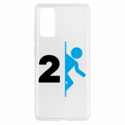 Чехол для Samsung S20 FE Portal 2 logo