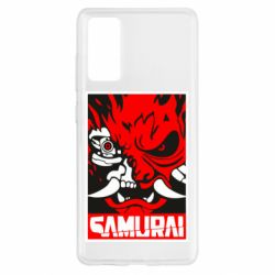 Чохол для Samsung S20 FE Poster samurai Cyberpunk