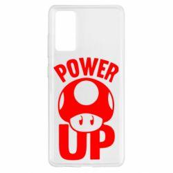 Чохол для Samsung S20 FE Power Up Маріо гриб