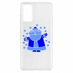 Чохол для Samsung S20 FE Прикольний дід мороз