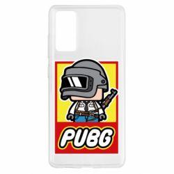 Чехол для Samsung S20 FE PUBG LEGO