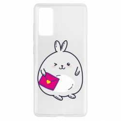 Чохол для Samsung S20 FE Rabbit with a letter