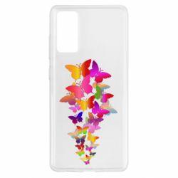 Чохол для Samsung S20 FE Rainbow butterflies