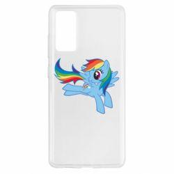 Чохол для Samsung S20 FE Rainbow Dash run