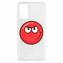 Чехол для Samsung S20 FE Red Ball game