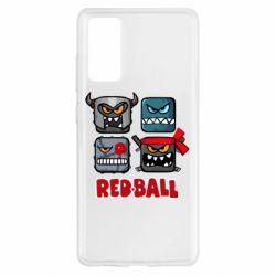 Чохол для Samsung S20 FE Red ball heroes