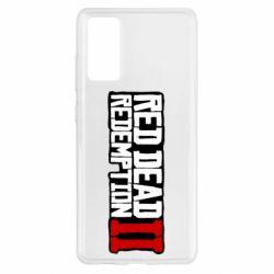 Чохол для Samsung S20 FE Red Dead Redemption logo