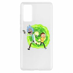 Чохол для Samsung S20 FE Rick and Morty art