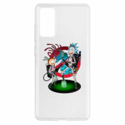 Чохол для Samsung S20 FE Rick and Morty as Ghostbusters