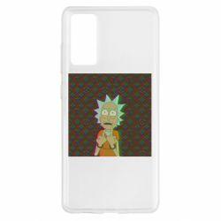 Чохол для Samsung S20 FE Rick Fck Hologram