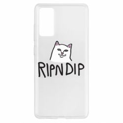 Чохол для Samsung S20 FE Ripndip and cat
