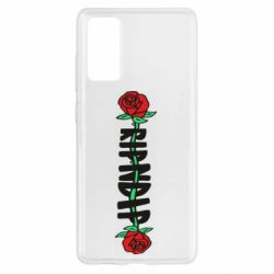 Чехол для Samsung S20 FE RipnDip rose