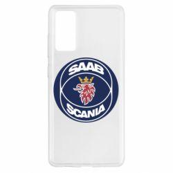 Чехол для Samsung S20 FE SAAB Scania