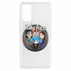 Чехол для Samsung S20 FE Sally face soundtrack