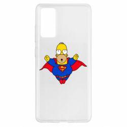 Чехол для Samsung S20 FE Simpson superman