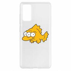 Чехол для Samsung S20 FE Simpsons three eyed fish