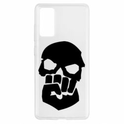 Чехол для Samsung S20 FE Skull and Fist