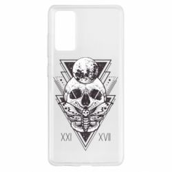 Чохол для Samsung S20 FE Skull with insect