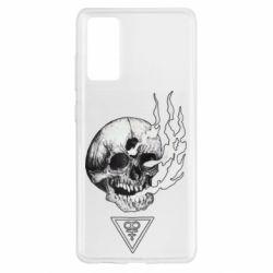Чохол для Samsung S20 FE Smoke from the skull