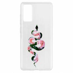 Чохол для Samsung S20 FE Snake and roses