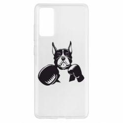 Чохол для Samsung S20 FE Собака в боксерських рукавичках