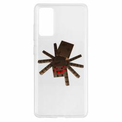 Чохол для Samsung S20 FE Spider from Minecraft