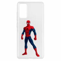 Чохол для Samsung S20 FE Spiderman in costume