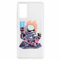 Чохол для Samsung S20 FE Stormtrooper chibi