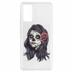 Чохол для Samsung S20 FE Sugar girl with a rose