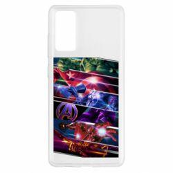 Чехол для Samsung S20 FE Super power avengers