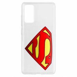 Чехол для Samsung S20 FE Superman Logo