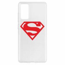 Чехол для Samsung S20 FE Superman одноцветный