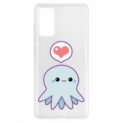 Чехол для Samsung S20 FE Sweet Octopus