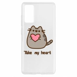 Чохол для Samsung S20 FE Take my heart