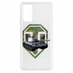 Чехол для Samsung S20 FE Tank and WOT game logo