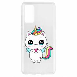 Чохол для Samsung S20 FE The cat is unicorn