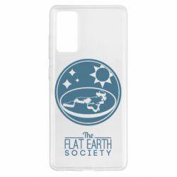 Чохол для Samsung S20 FE The flat earth society