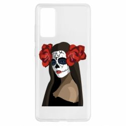 Чохол для Samsung S20 FE The girl in the image of the day of the dead