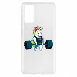 Чохол для Samsung S20 FE The unicorn is rocking