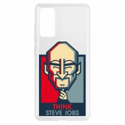 Чехол для Samsung S20 FE Think Steve Jobs