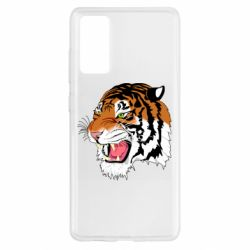Чохол для Samsung S20 FE Tiger roars