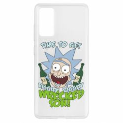Чехол для Samsung S20 FE Time to get riggity wrecked son