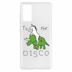 Чохол для Samsung S20 FE To the disco