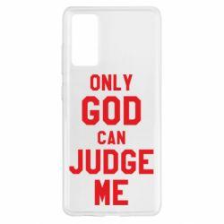 Чохол для Samsung S20 FE Тільки Бог може судити мене